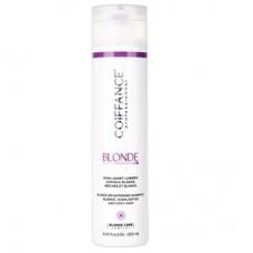 Coiffance Professionnel Blonde Brightening Shampoo Blond, Highlighted And Grey Hair Шампунь для светлых, обесцвеченных и седых волос 1000 ml